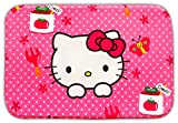 Baby Station Hello Kitty Printed Bathroom Floor Mat Doormat Rug Non Slip