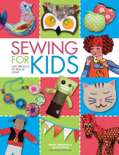 Sewing For Kids: Easy Projects To Sew At Home front-990407
