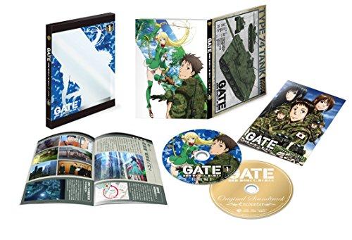 おすすめアニメ キャッチ 「GATE 自衛隊 彼の地にて、斯く戦えり」 Vol.1 接触編I <初回生産限定版> [DVD+CD]