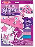 Melissa & Doug Mess Free Glitter -Foam Tiara and Wand