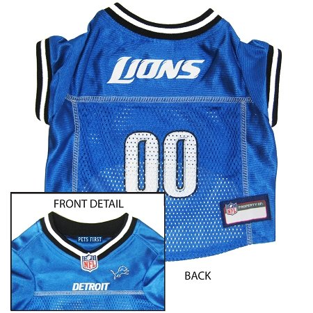 Dog Supplies Detroit Lions Jersey Xs at Amazon.com