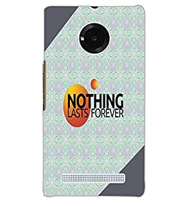 YU YUPHORIA NOTHING Back Cover by PRINTSWAG