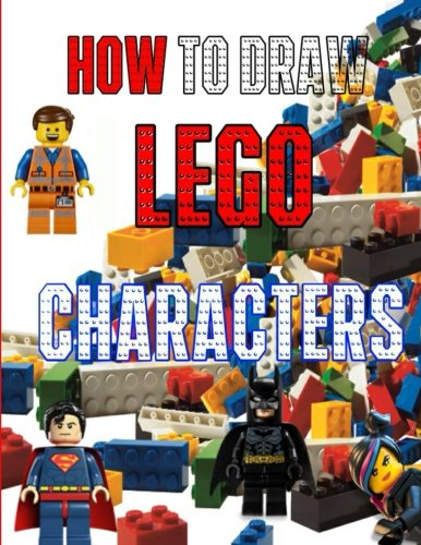 How to Draw Lego Characters: A step by step guide on drawing Lego characters like a pro (Draw Lego compare prices)