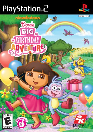 Dora the Explorer: Dora's Big Birthday Adventure - PlayStation 2 - 1