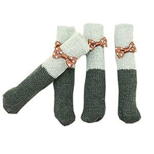 Chair Table Leg Pad Furniture Knit Socks