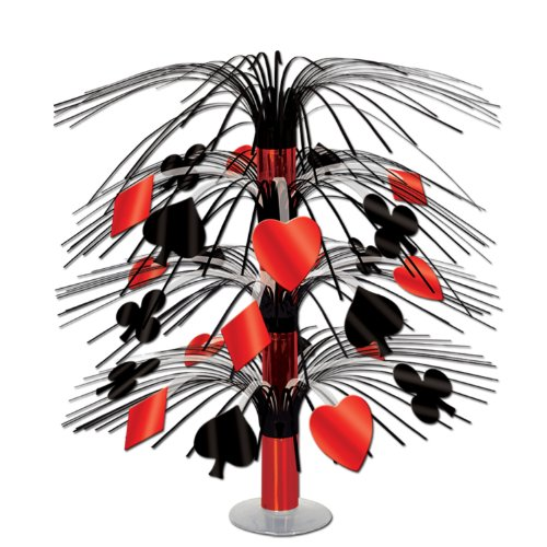 Casino Cascade Centerpiece Party Accessory (1 count) (1/Pkg)