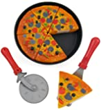 Pizza Party Fast Food Cooking & Cutting Play Set Toy for kids