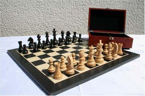 Turnier Schachspiel aus Holz , schach Vergleich