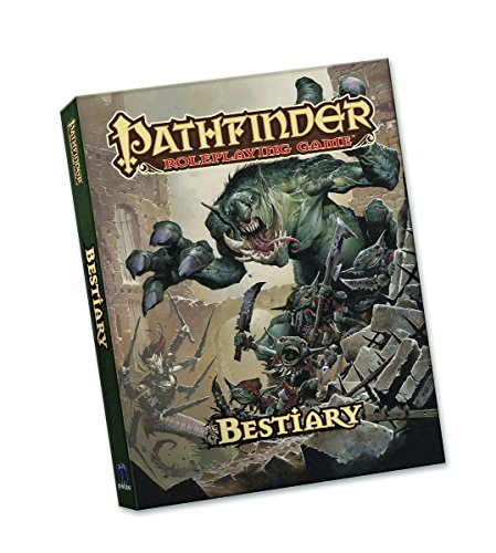 Pathfinder Roleplaying Game Bestiary (Pocket Edition) [Bulmahn, Jason] (Tapa Blanda)