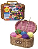 Image of Alex Yarn Craft Kit in Carry Basket