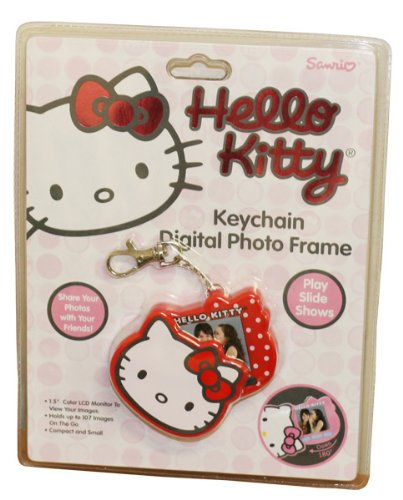 Hello Kitty Keychain Digital Photo Frame Red