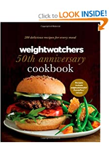Weight Watchers 50th Anniversary Cookbook: 280 Delicious Recipes for Every Meal [Hardcover] — by Weight Watchers