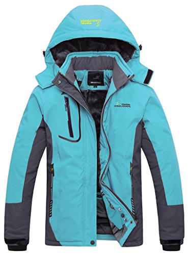 Wantdo-Womens-Waterproof-Mountain-Jacket-Fleece-Windproof-Ski-Jacket