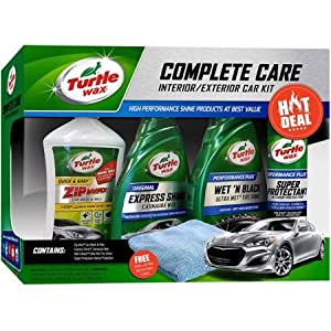Turtle Wax 5-Piece Complete Care Kit, Complete 5-Piece Kit for Car Lovers