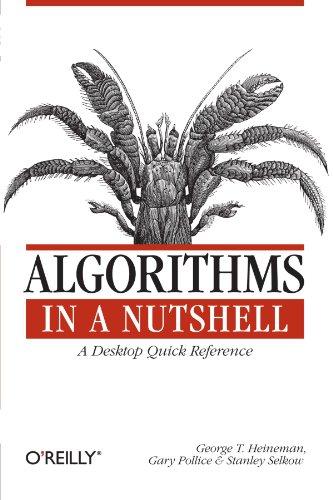 Algorithms in a Nutshell (In a Nutshell  059651624X pdf
