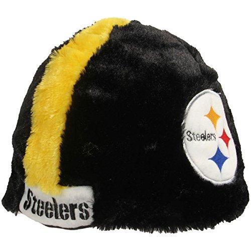 NFL Pittsburgh Steelers Cozy Helmet Hat, Black from SteelerMania