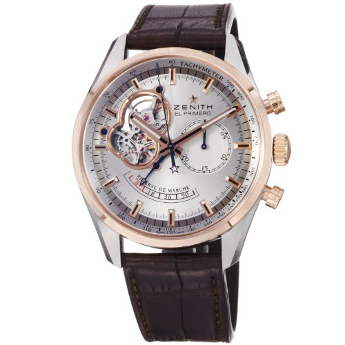 Zenith Men's 51.2080.4021/01.C494 Chronomaster Open Reserve Chronograph Dial Watch