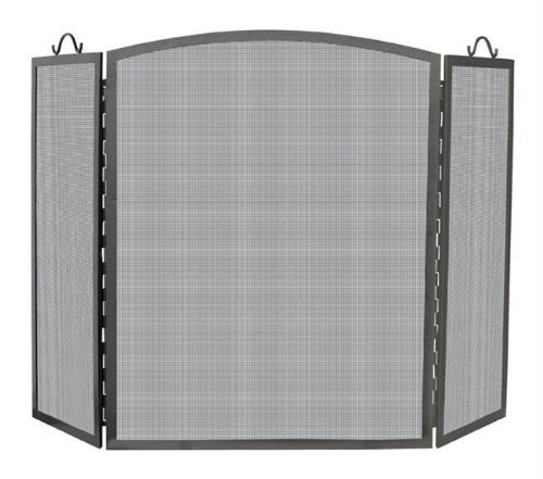 UniFlame 3 Panel Olde World Iron Arch Top Screen, Large by blue rhino (Blue Rhino Fireplace Screen compare prices)