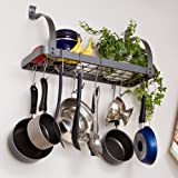 Rack It Up Book Shelf Pot Rack