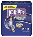 Huggies Pull-Ups Training Pants, Nighttime, Boys, 3T-4T, 21-Count (Pack of 4)
