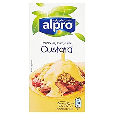 Alpro Soya Dairy Free Low Fat Custard (525g) - Pack of 2 from Groceries