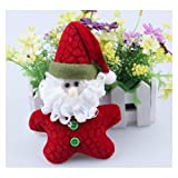 Fabric Christmas decorations Christmas gifts Santa Claus pendant Christmas ornaments,price for 1pc