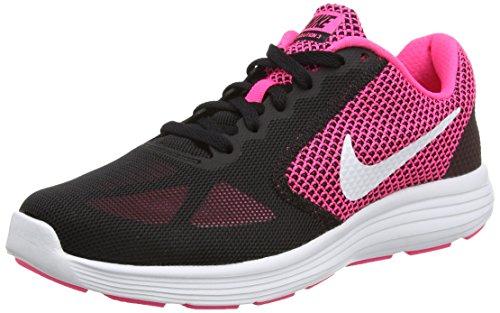 Nike Wmns Revolution 3, Scarpe Running Donna, Rosa (Hyper Pink/White/Black), 39 EU