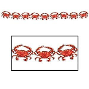 Crab Streamer Party Accessory (1 count) (1/Pkg)