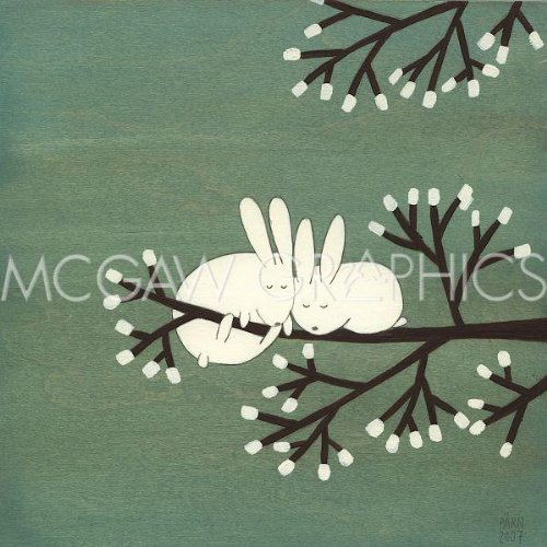 Rabbits on Marshmallow Tree by Kristiana Parn 12