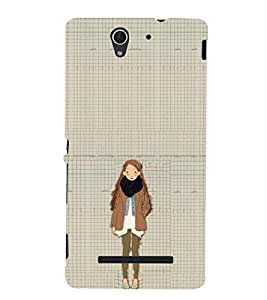 EPICCASE Winter Collection Mobile Back Case Cover For Sony Xperia C3 (Designer Case)