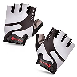 Cycling Gloves with Shock-absorbing Foam Pad Breathable Half Finger Bicycle Gloves Bike Gloves B-001 by Maso
