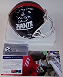 Lawrence Taylor Autographed Hand Signed NY New York Giants Mini Football Helmet - with SB XXI, XXV Champs Inscription - PSA/DNA