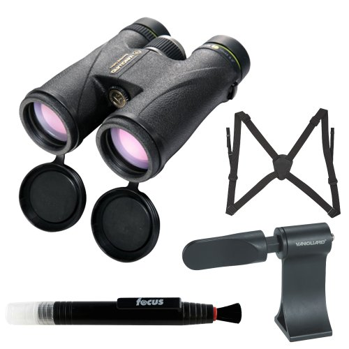 Vanguard 10X42 Spirit Ed Waterproof Binoculars (Black) + Accessory Kit