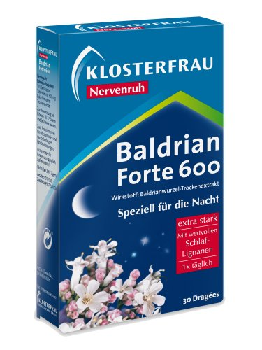 Baldrian Forte 30 tablets by Klosterfrau