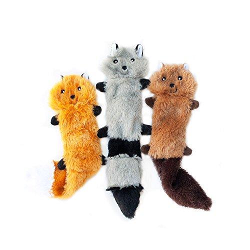 ZippyPaws-Skinny-Peltz-No-Stuffing-Squeaky-Plush-Dog-Toy