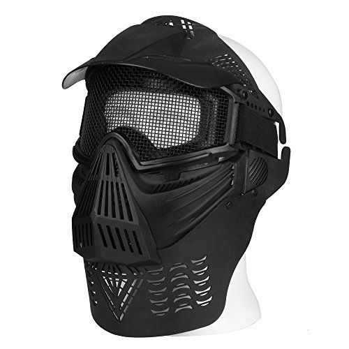 airsoft masks coloring pages | Flexzion Tactical Airsoft Mask Paintball Game Full Face ...