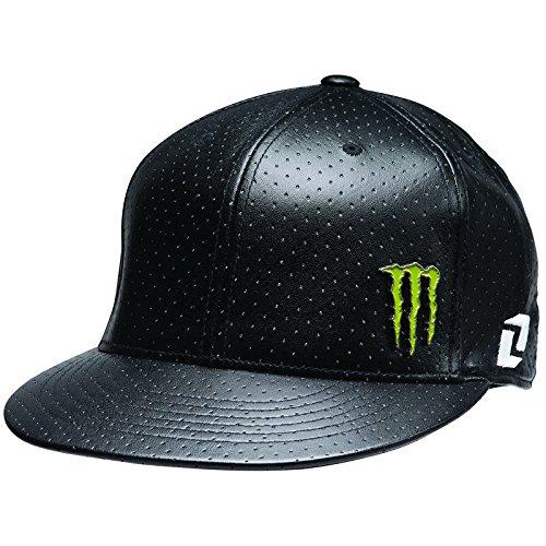173ec4a946a Monster Energy Drink Men s One Industries Wells Flexfit Fitted Hat Cap -  Black ...