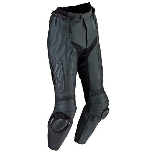 Ixon - Addict Pant Pantalon Cuir Homme Noir Absolu - Taille : S