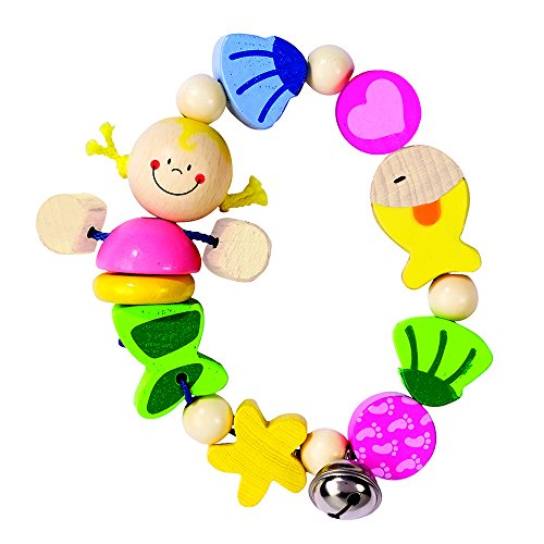 Heimess Elastic Ring Mermaid Baby Toy