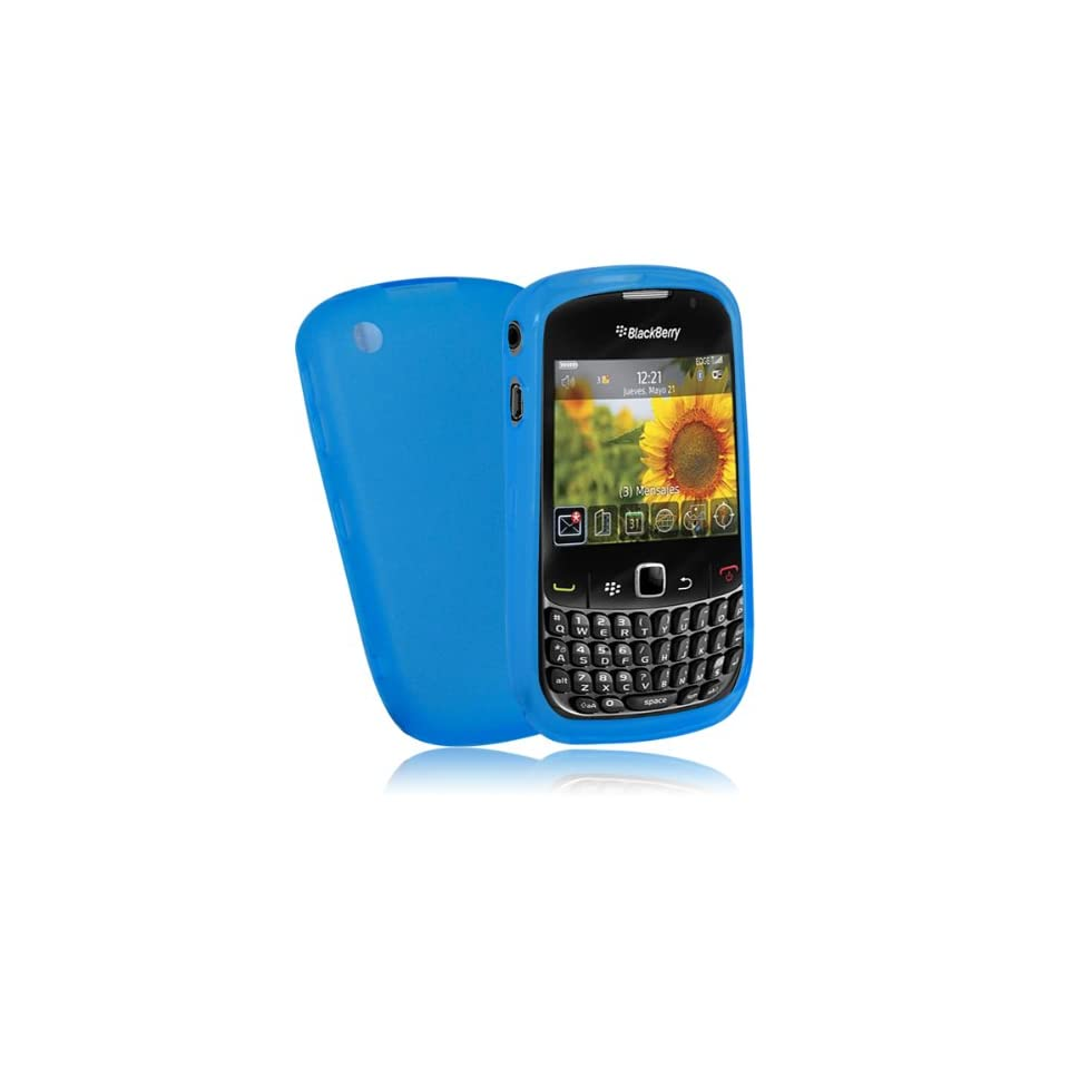 Mobile Palace  blue gel skin case cover pouch with for