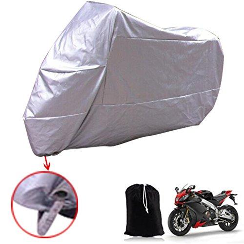 Sengear-Moto-tanche--la-poussire-Housse-de-protection-UV-avec-une-scurit-Keyhole-4CM-Argent