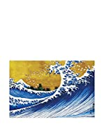 ArtopWeb Panel Decorativo Hokusai Grosse Welle