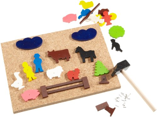 HABA Figure Geo Shape Tack Zap Set