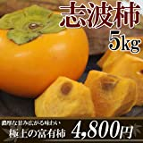 最高級【産地直送】福岡産の富有柿「志波柿」5kg▼高糖度で甘い(16度~20度)!!贈答・ギフト用