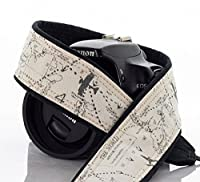Camera Strap, Map 255, Airplane, Fits dSLR, SLR or Mirrorless Cameras