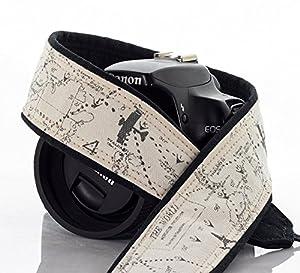 Camera Strap, Map 255, Airplane, Fits dSLR, SLR or Mirrorless Cameras