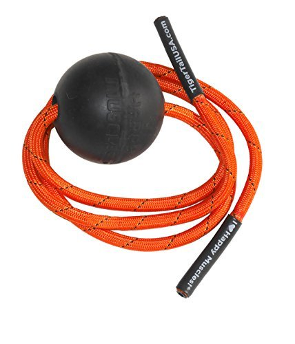 "Tiger Tail Tiger Ball ""Massage On A Rope"" - Massage Ball For Busting Out Muscle Knots - Concentrated Muscle Massge"