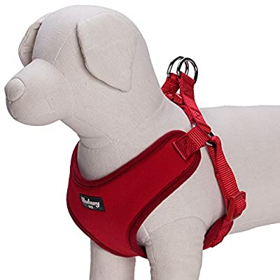 Blueberry Pet Harnesses Classic Solid No Pull Ultra-soft Neoprene Padded Dog Harness Vest