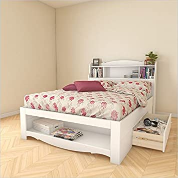 Nexera Dixie 2 Piece Full Bedroom Set in White