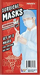 Doctor Surgical Masks Pack Of 3 62132